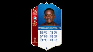 FIFA 18 UEFA World Cup Ratings William Carvalho