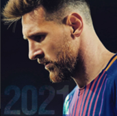 Lionel Messi Barcelona 2021