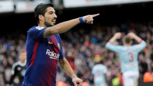 Luis Suarez Barcelona Celta LaLiga 02122017