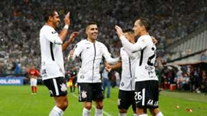 Rodriguinho Gabriel Corinthians Deportivo Lara 14032018 Copa Libertadores