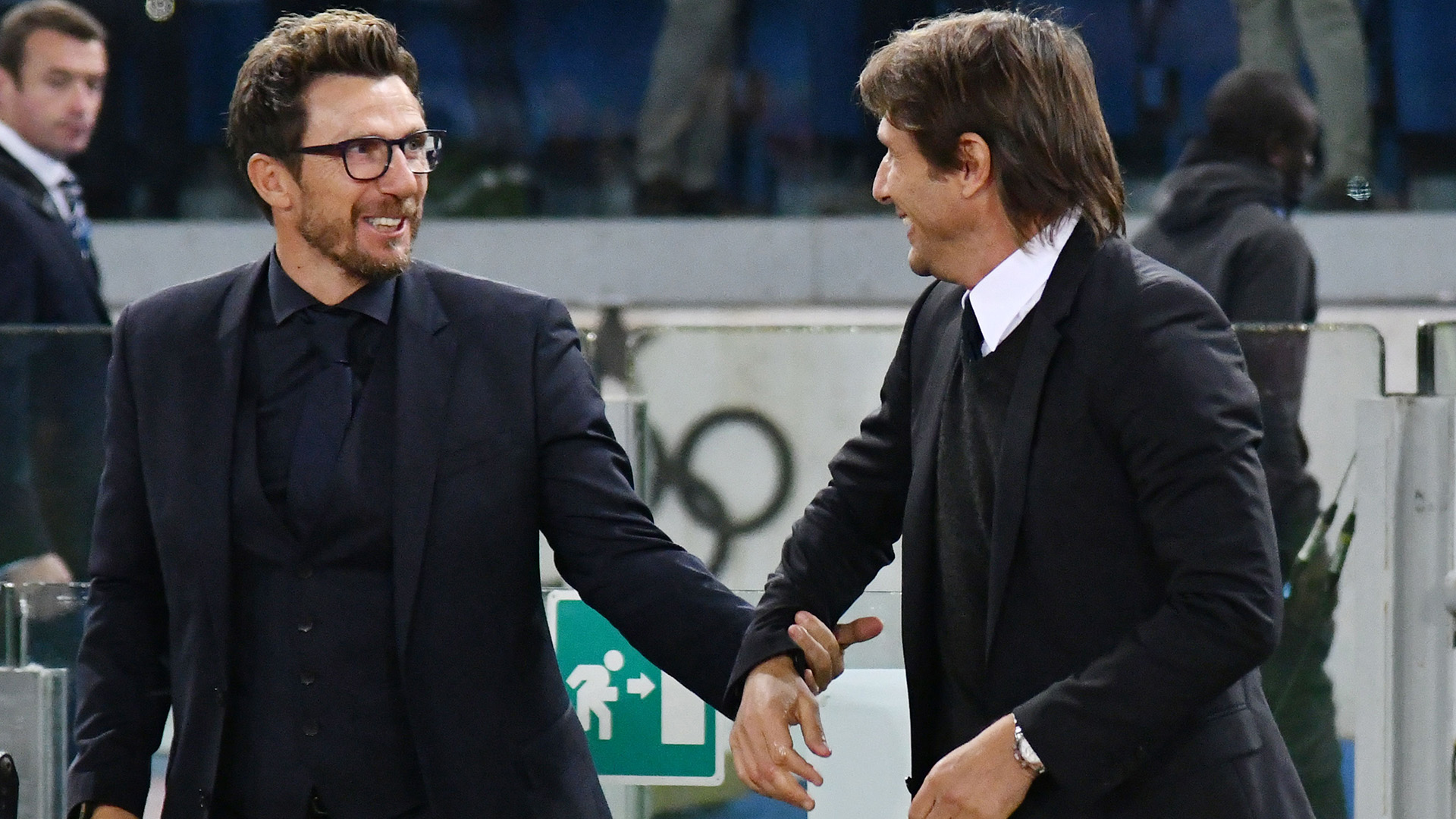 Eusebio Di Francesco Antonio Conte Roma Chelsea