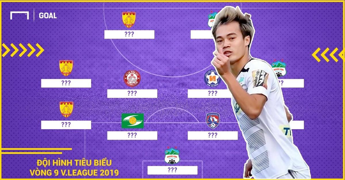 ĐHTB vòng 9 V.League 2019