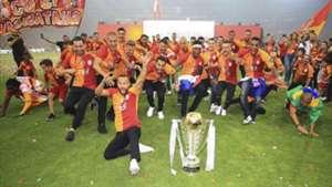 Galatasaray championship ceremony