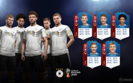 FIFA 18 World Cup Germany