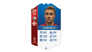 FIFA 18 UEFA World Cup Ratings Eriksen