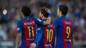 Barcelona Messi Suarez Neymar