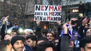 Real Madrid PSG I Torcedores Neymar I 14 02 18