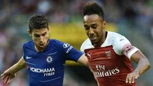 Jorginho Chelsea Pierre-Emerick Aubameyang Arsenal