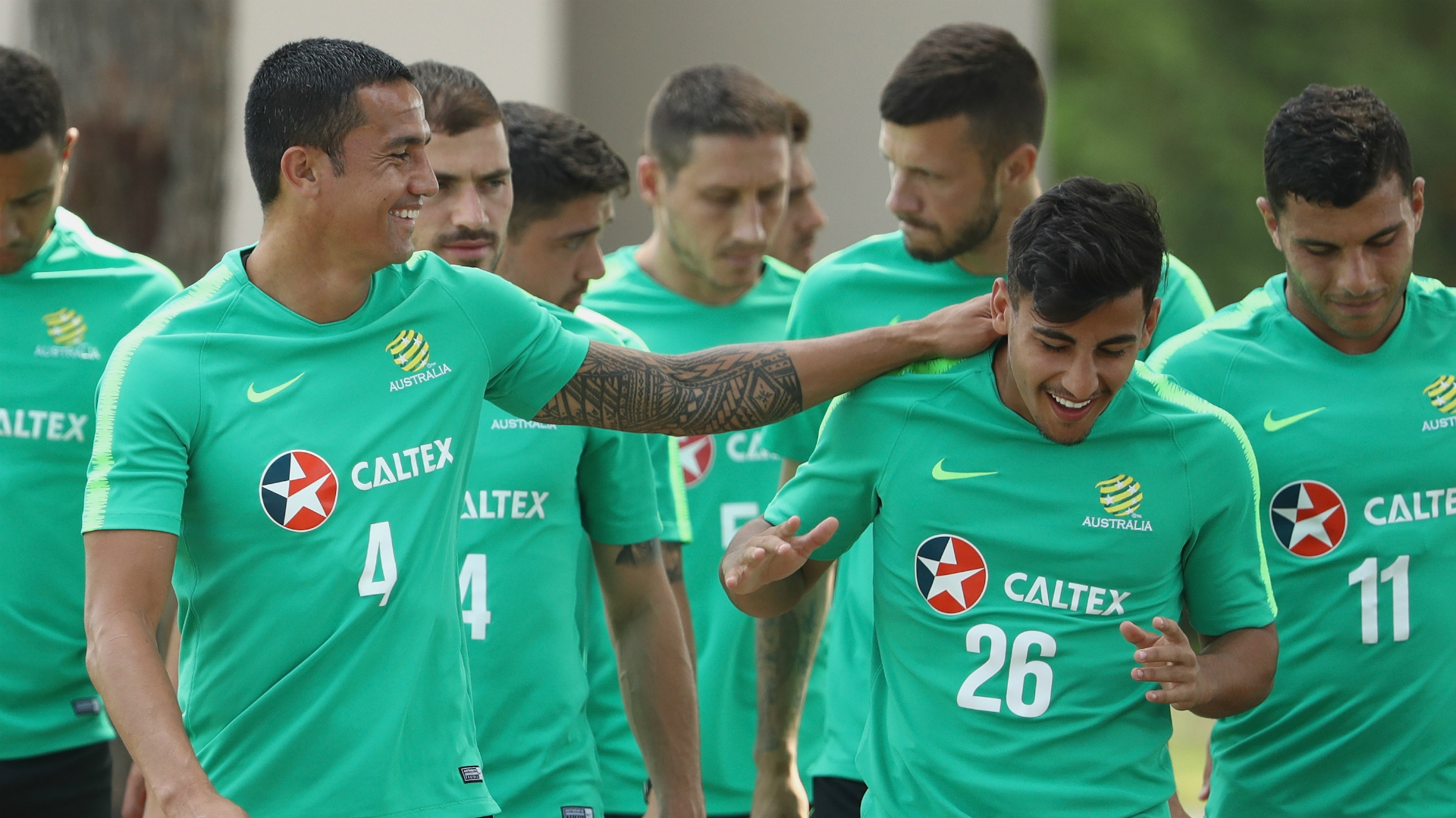 Tim Cahill selected in Australia's 23-man squad