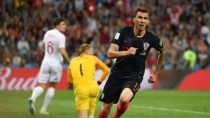 Mario Mandzukic Croatia England World Cup 11072018
