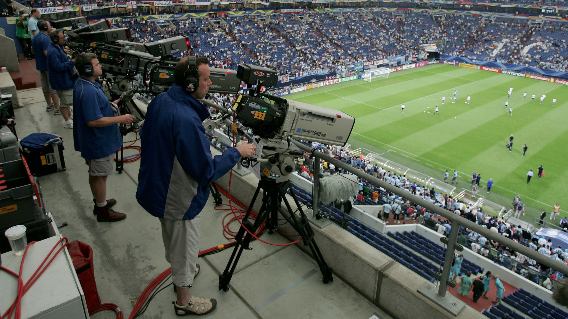 TV Cameras FIFA World Cup