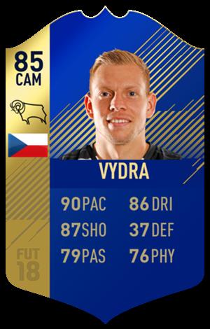 FIFA 18 EFL Team of the Season Vydra