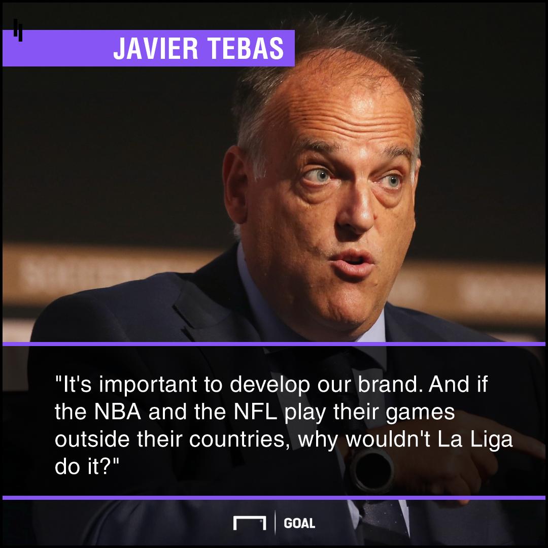 Javier Tebas Liga US game PS