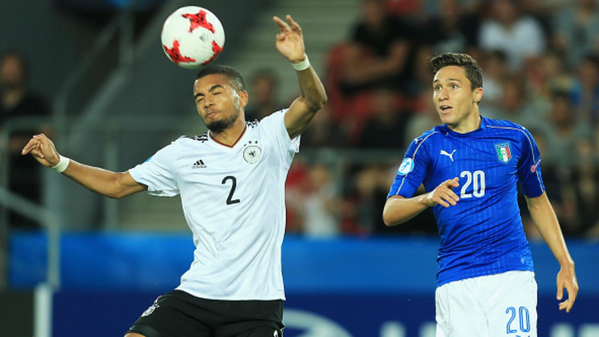 Jeremy Toljan Federico Chiesa Italy Germany U21 European