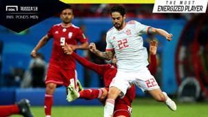 Promo Ponds Men: Iran vs Spanyol