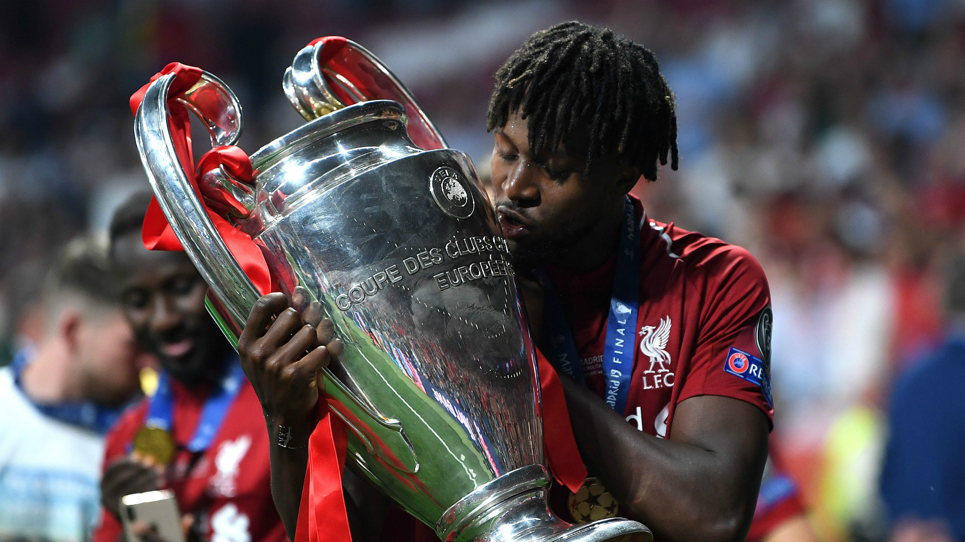 Divock Origi signs new long-term Liverpool contract