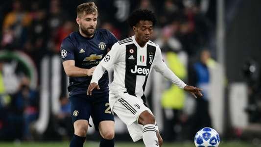 Juan Cuadrado Juventus Manchester United Champions League 07112018