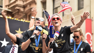 USWNT victory parade 2019