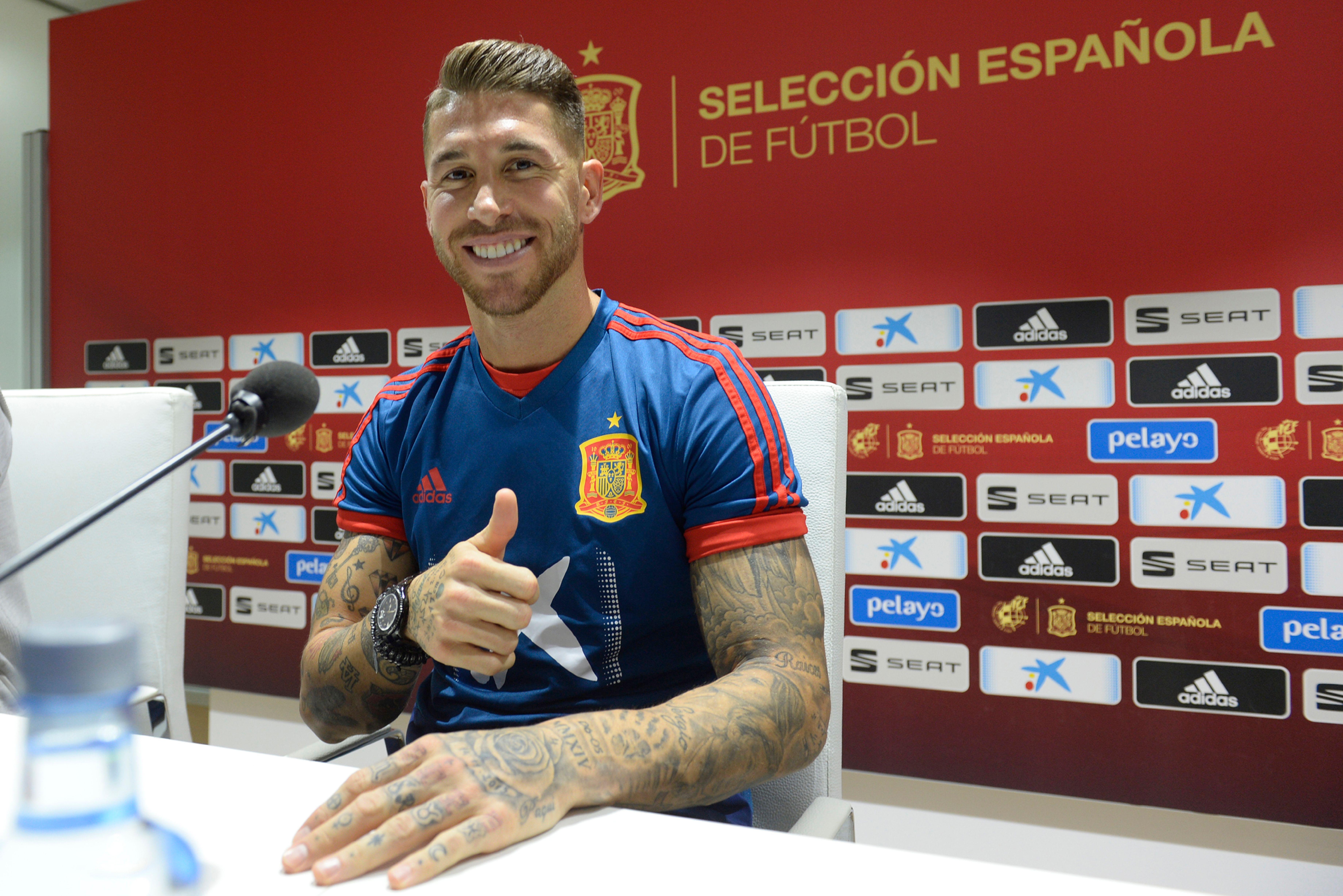 Ramos n'a pas marché sur Sterling — Espagne