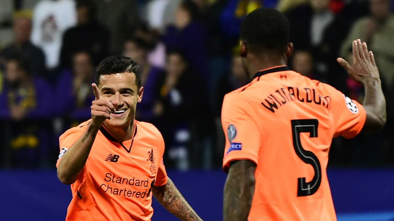 Philippe Coutinho Gini Wijnaldum Liverpool