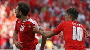 Admir Mehmedi Switzerland Euro 2016