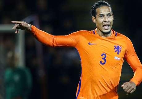 Van Dijk nieuwe aanvoerder Nederlands elftal