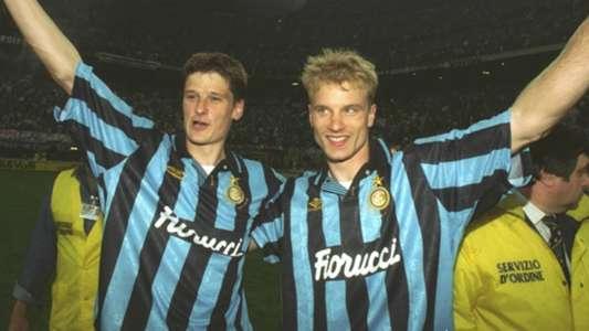 Wim Jonk Dennis Bergkamp Inter