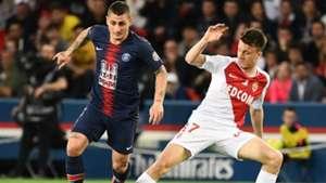Kylian Mbappé PSG Monaco