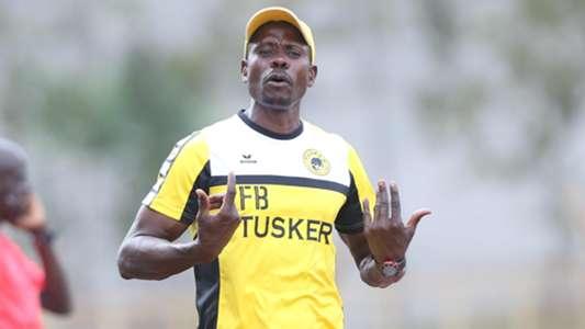 Tusker coach Francis Baraza
