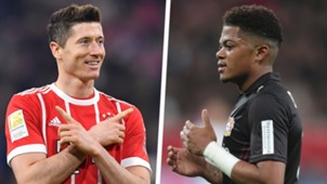 Robert Lewandowski Leon Bailey Split