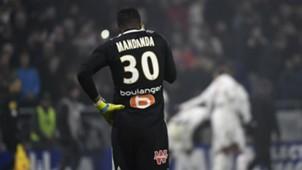 Steve Mandanda Lyon Marseille Ligue 1 17122017