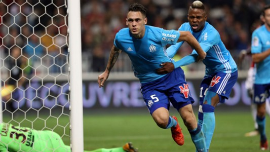 Lucas Ocampos Clinton Njie Nice Marseille Ligue 1 01102017