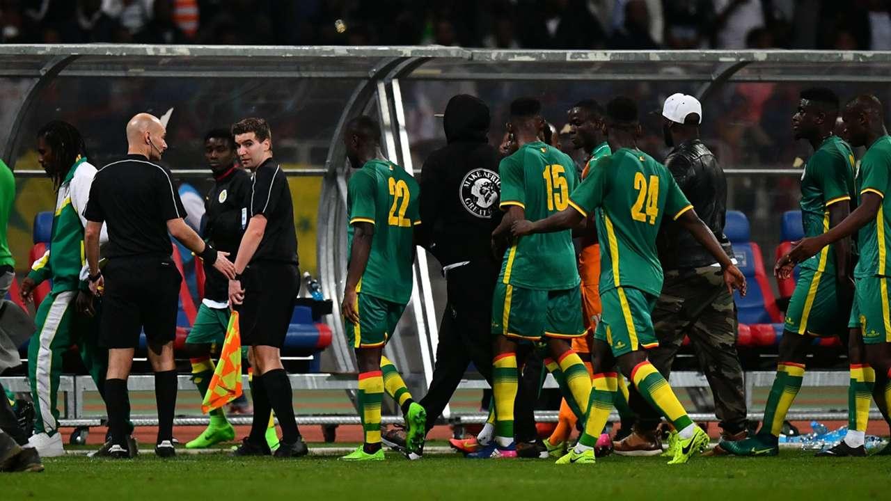 GALERI: Kerusuhan Suporter Laga Senegal - Pantai Gading