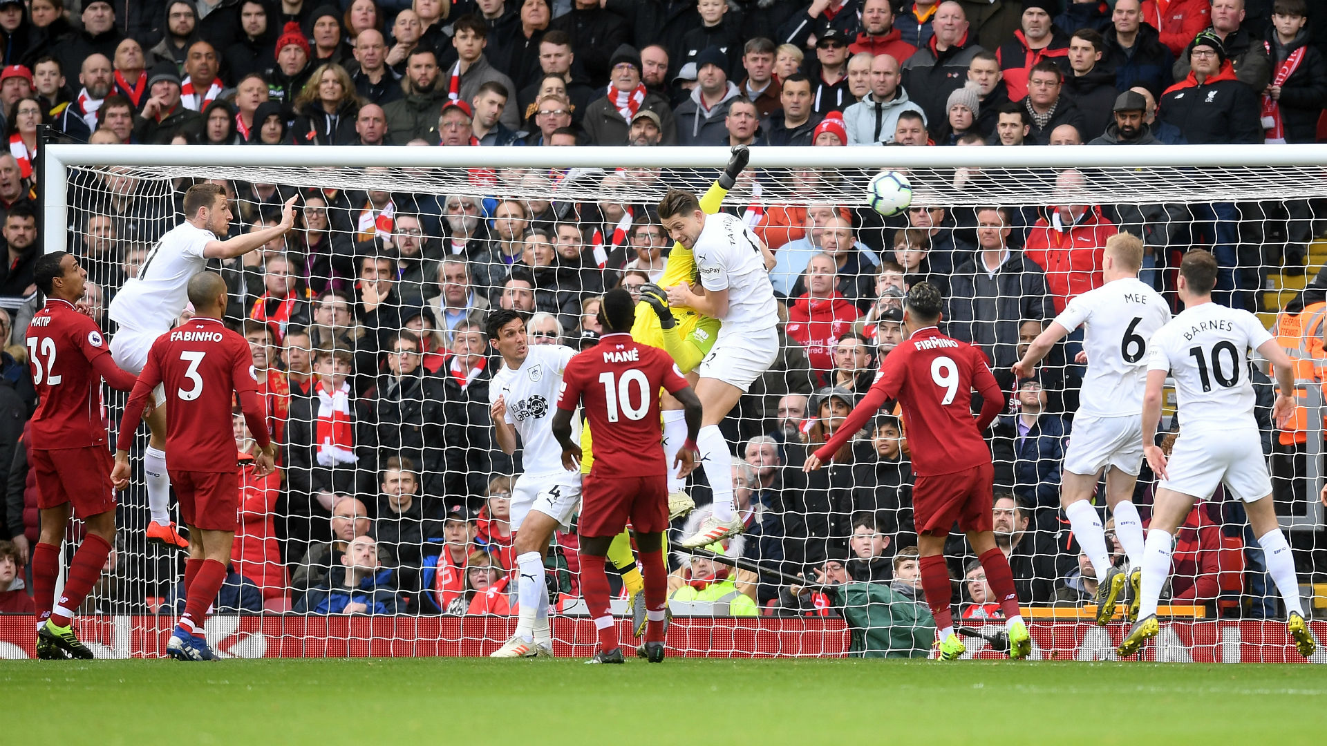 Liverpool Burnley Alisson 10032019
