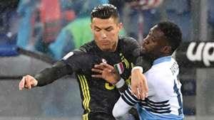 Wallace Lazio Cristiano Ronaldo Juventus