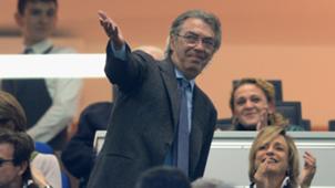 Massimo Moratti former Inter chairman