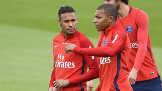 Neymar e Mbappé PSG 06 09 17