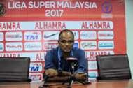 Selangor head coach P. Maniam 25/2/2017