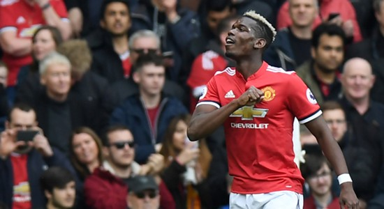 Paul Pogba Manchester United Arsenal