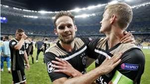 Daley Blind, Matthijs de Ligt, Dynamo Kiev - Ajax, 08282018