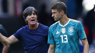 Joachim Low Thomas Muller Germany 2018