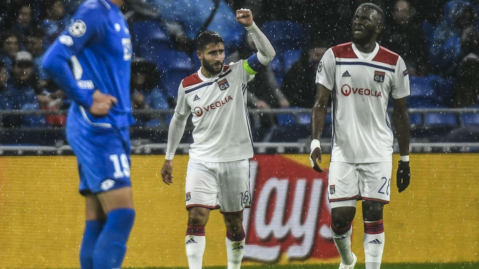 Nabil Fekir Lyon Hoffenheim UEFA Champions League 07112018