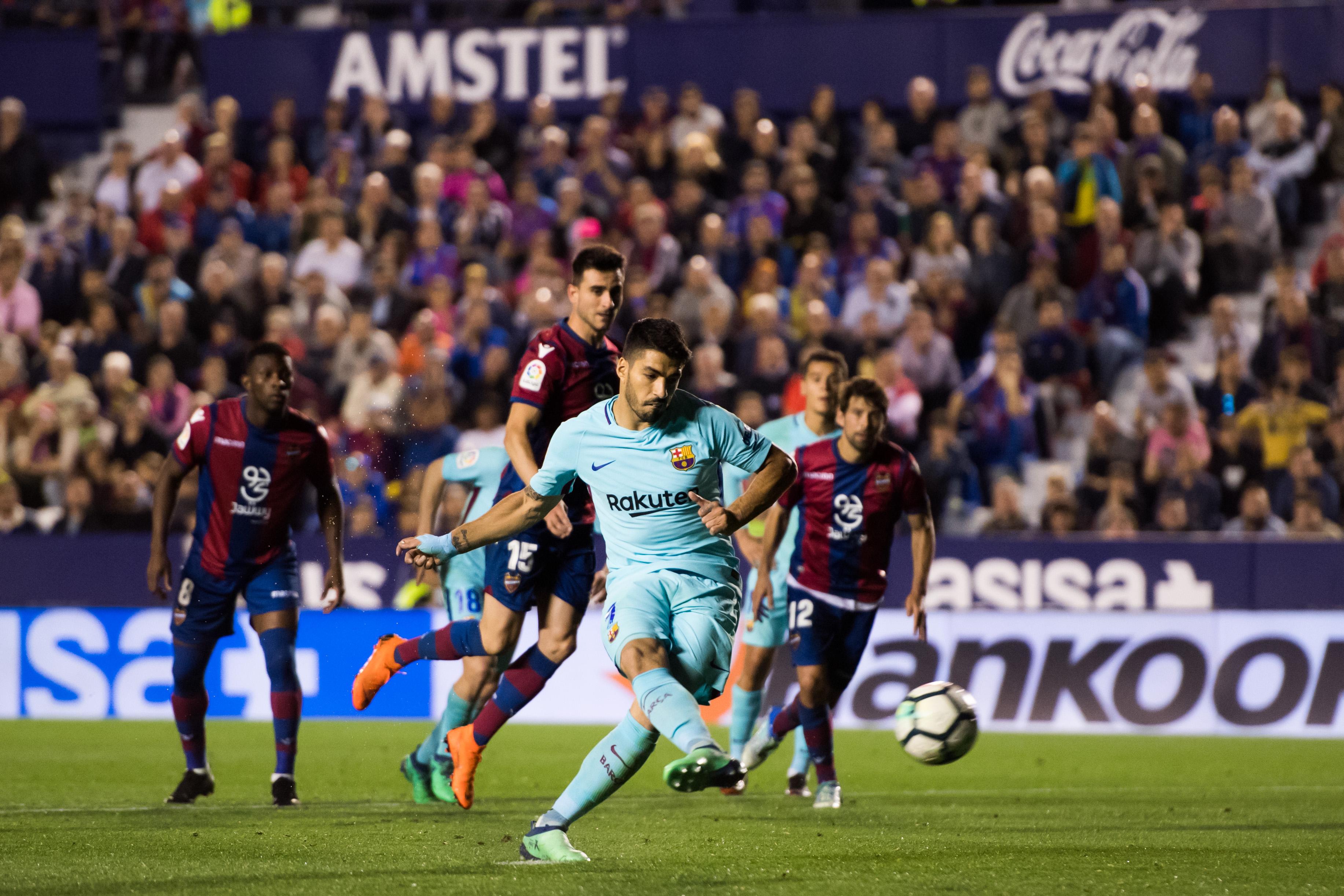 Sin Messi, Barcelona perdió el invicto en La Liga
