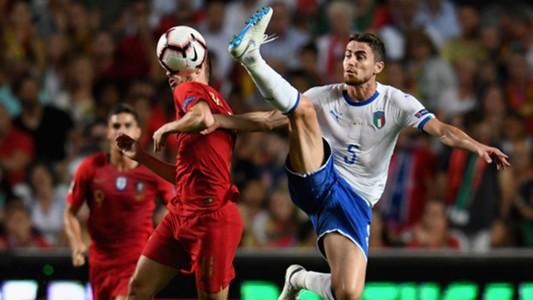 Jorginho Portugal Italy Nations League