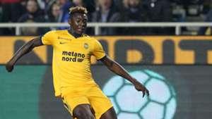 Moise Kean Hellas Verona Atalanta Serie A 10252017