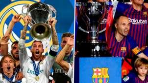 GFX Split Real Madrid Barcelona champions 2018