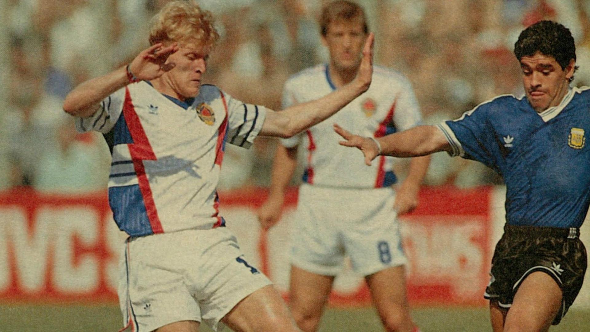Robert Prosinečki Yugoslavia 1990
