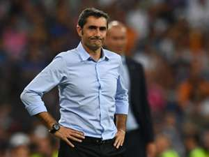 Ernesto Valverde Real Madrid Barcelona Supercopa 16082017
