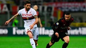 Danilo Cataldi Gianluca Lapadula Milan Genoa Serie A 18032017