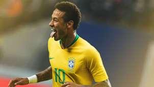 Neymar Brazil World Cup 2018 home kit
